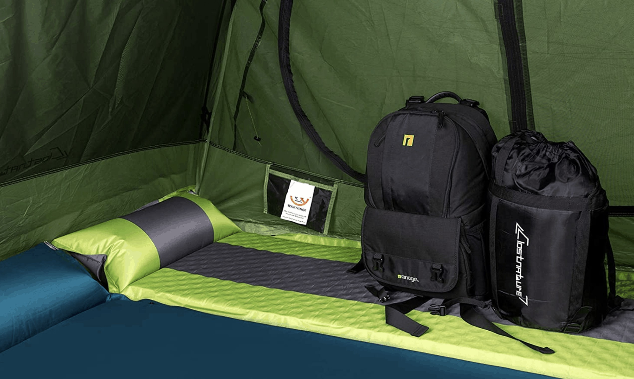 Lightweight Self-Inflating Sleeping Pads